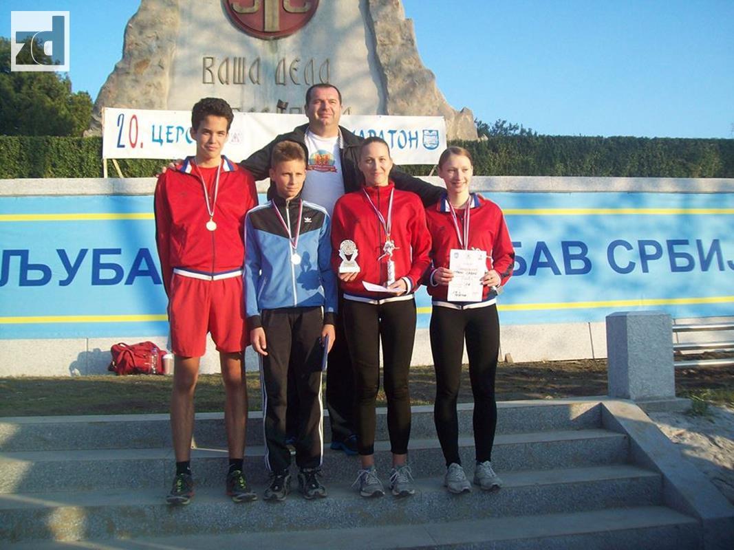 Photo of Atetičari iz Zvornika prvi na Cerskom polumaratonu