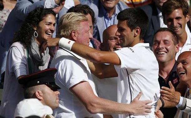 Beker: Đoković će kao otac biti bolji teniser