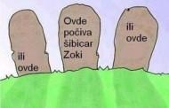 Gdje počiva šibicar Zoki