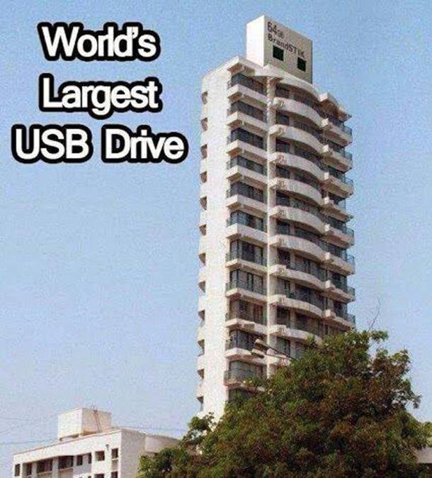 Ovo je najveći USB flash na svijetu