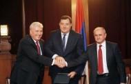 Potpisan Sporazum o zajedničkom djelovanju SNSD-a, DNS-a i SP-a