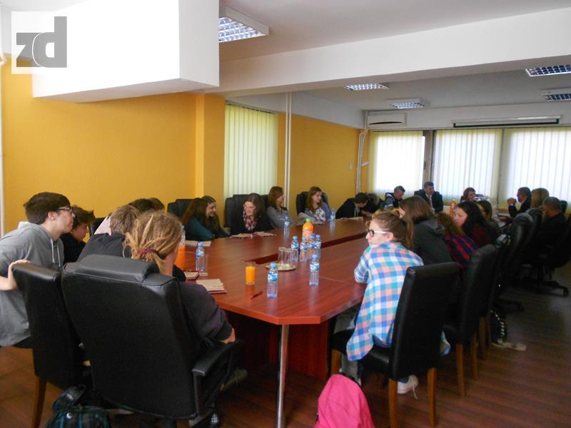 Photo of Prijem za učenike i profesori iz Slovenije u Opštini Zvornik