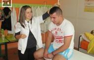Fizioterapeuti realizovali projekat korektivnih vježbi za kičmu (foto)