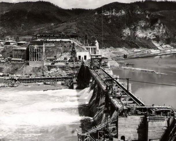 izgradnja Hidroelektrane Zvornik u fotografijama (17)