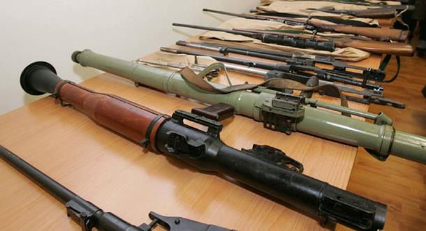 Photo of Uhapšeno šest lica zbog trgovine oružjem