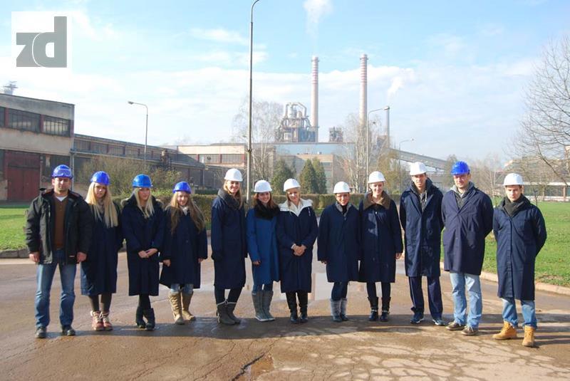 Photo of Alumina: Posjeta studenata Tehnološkog fakulteta Novi Sad