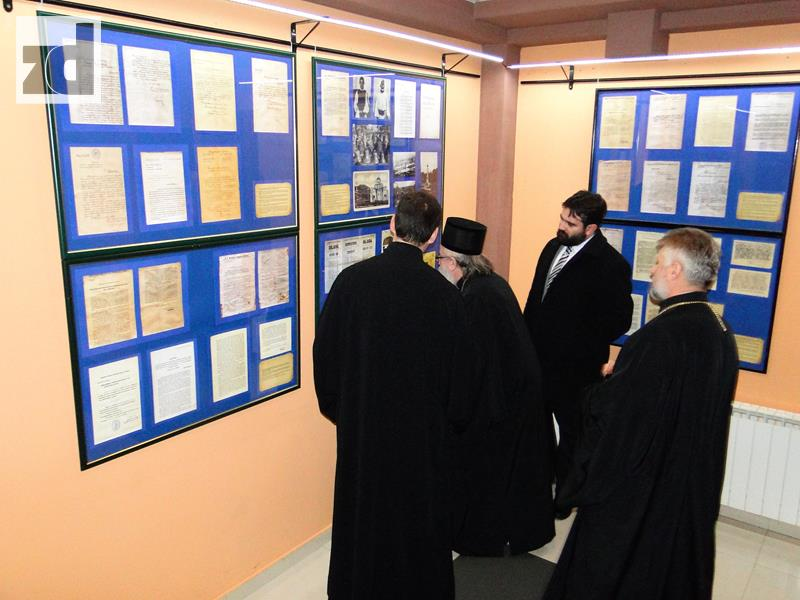 Photo of Episkop Hrizostom otvorio izložbu u Domu omladine Zvornik