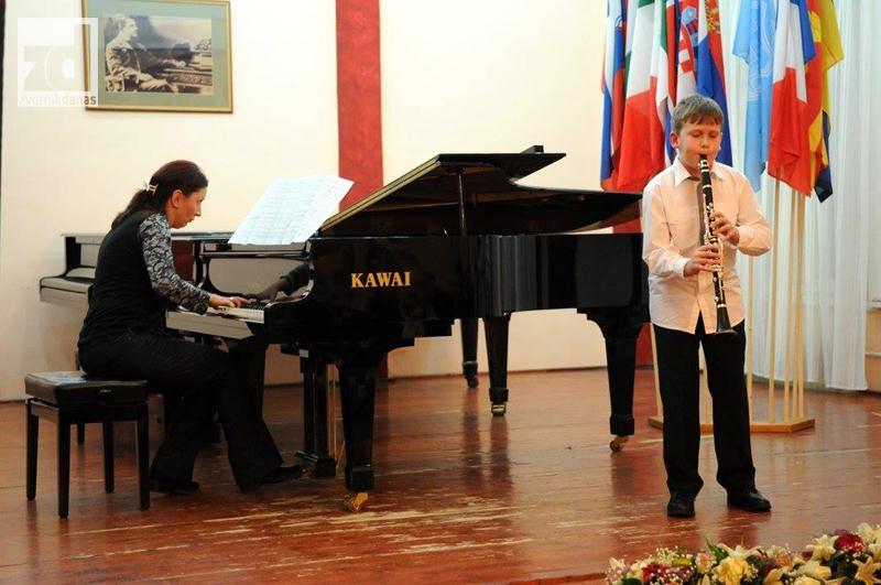 Photo of Stefan Todorović supertalentovani polaznik Muzičke škole iz Zvornika