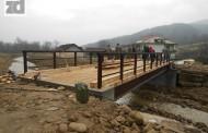Oštećeni most na Jaseničkoj rijeci zamijenjen novim