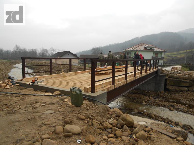 Photo of Oštećeni most na Jaseničkoj rijeci zamijenjen novim