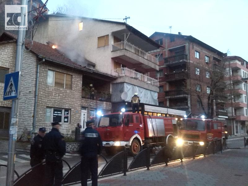 Photo of Jutrošnji požar u centru Zvornika lokalizovan