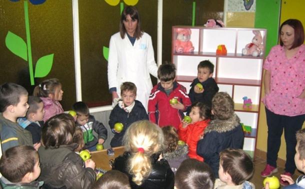 Bratunac: Uređen stomatološki kutak za mališane