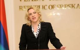 Željka Cvijanović sutra u Zvorniku, Bratunacu i Srebrenici