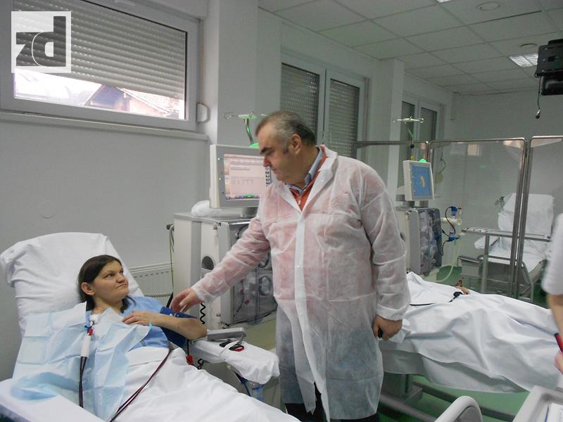 Photo of Načelnik Stevanović posjetio pacijente u Hemodijaliznom centru Zvornik