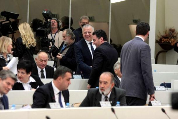 Poslanici SNSD-a napustili zasjedanje Parlamenta BiH