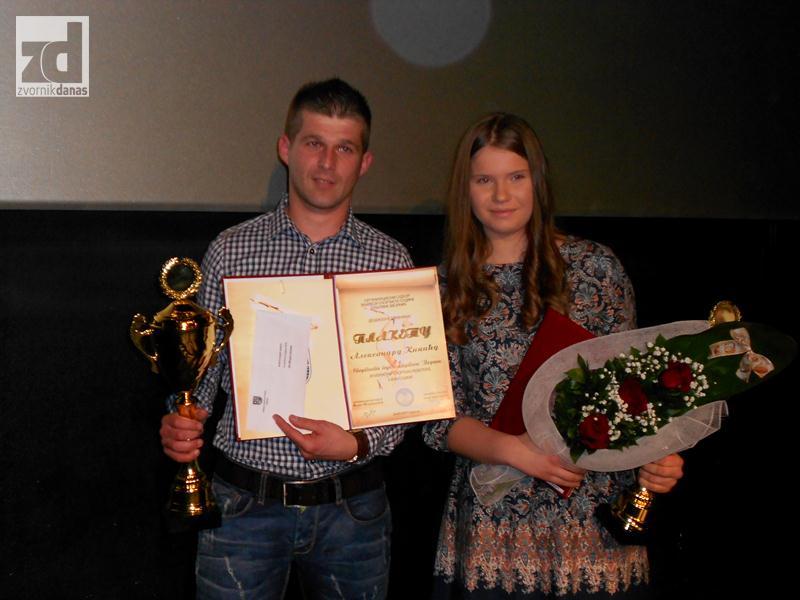 Photo of Kikić i Božovićeva najbolji sportisti opštine Zvornik za 2014. godinu
