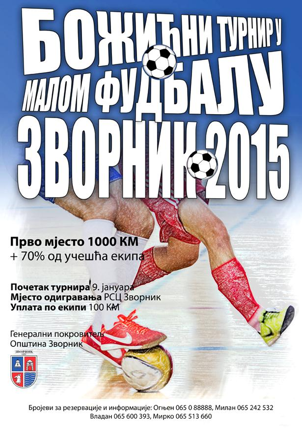 "Photo of 9. januara počinje turnir u malom fudbalu ""Zvornik 2015"""
