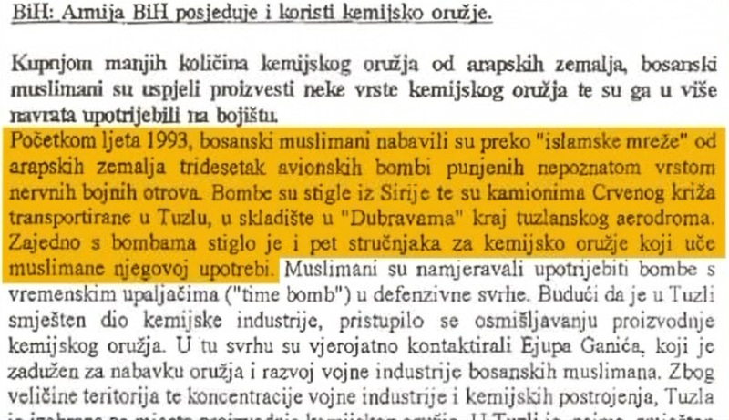 EKSKLUZIVNO: Armija BiH u napadu na Zvornik koristila hemijsko oružje (foto/video)