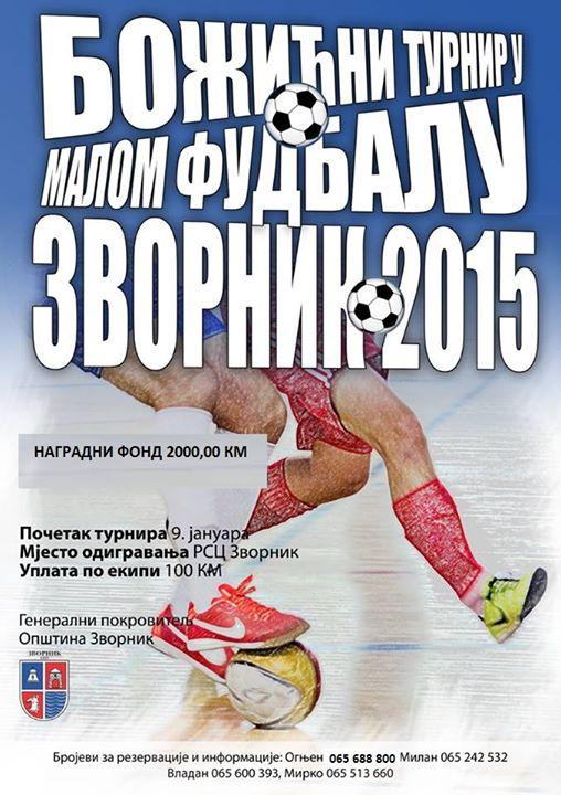 "Photo of Sutra počinje turnir u malom fudbalu ""Zvornik 2015"""