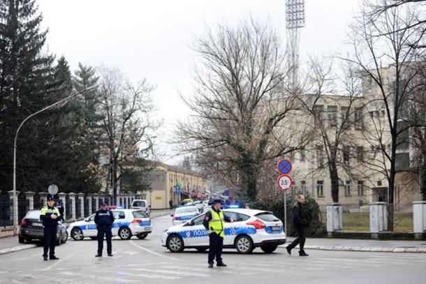 Evakuisana zgrada Osnovnog suda u Banjaluci