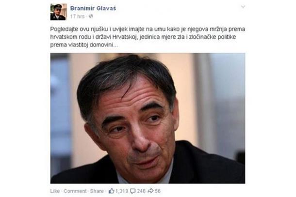 Photo of Glavaš započeo hajku na Pupovca