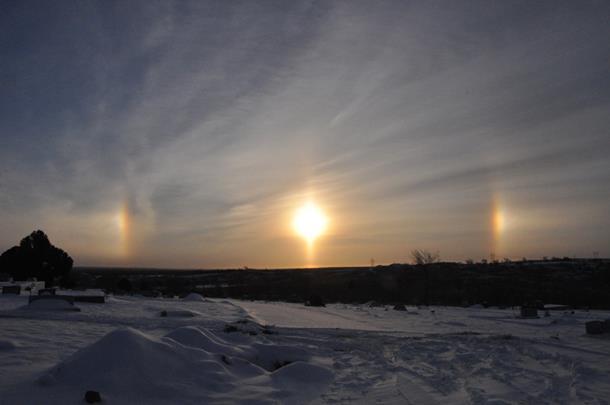 Photo of Iznad ruskog grada Čeljabinska osvanula tri sunca!