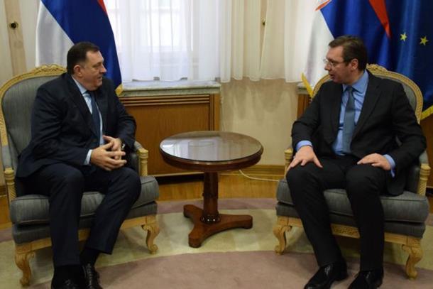 Dodik i Vučić o planovima za RS i BiH