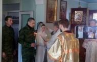 Srpski dobrovoljac oženio djevojku iz Donjecka