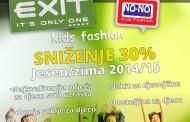 30% sniženje u butiku EXIT KIDS