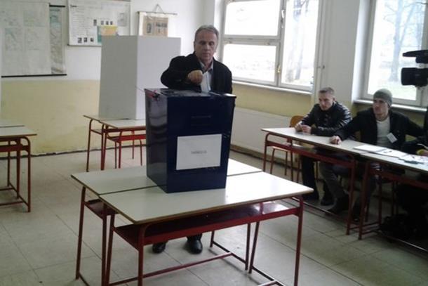 Photo of Dušan Panić prvi načelnik opštine Stanari
