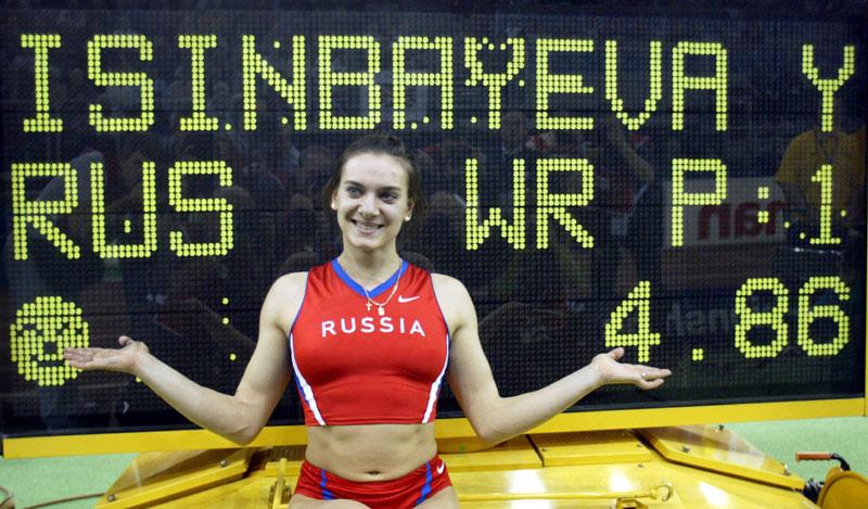 Isinbajeva ne odustaje: Hoće na OI u Rio