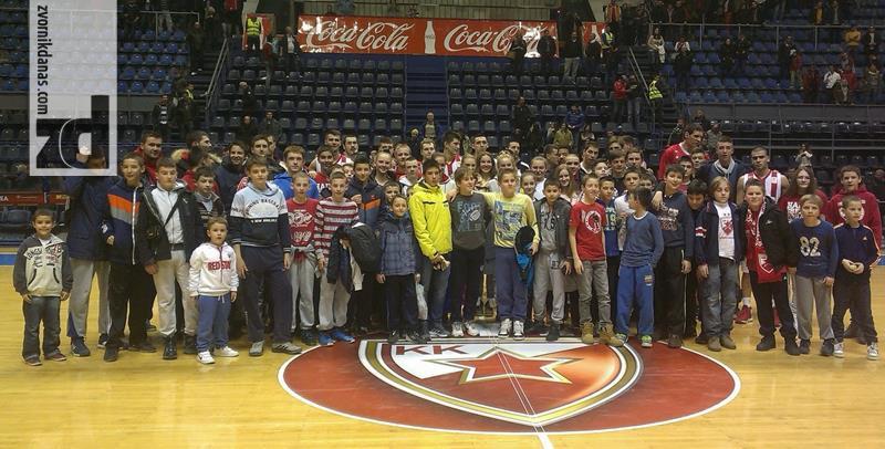 """Photo of Košarkaši """"Zvornik Basketa"""" u Beogradu posjetili KK """"Crvenu zvezdu"""" i bili na utakmici ABA lige sa Metalcem"""