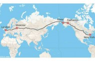 Ideja - autoput London - Moskva - Njujork!