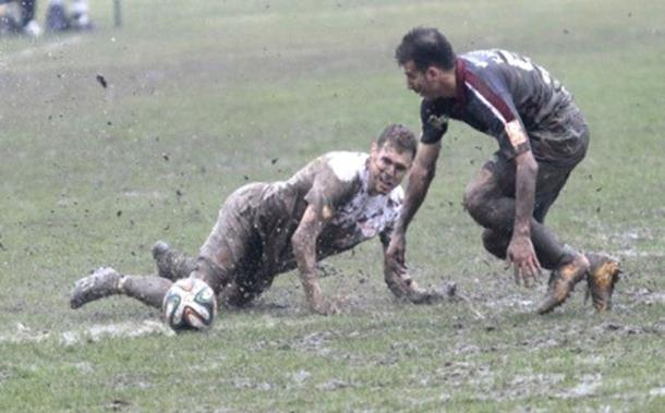 Photo of Za bodove se borili u blatu