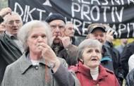 Masovni protesti penzionera iz FBiH 14. septembra