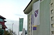 Opet ratne zastave tzv. Armije BiH u Janji
