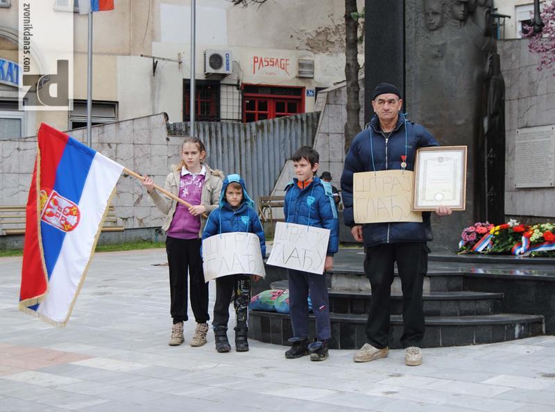 Photo of Štrajk glađu kod spomenika
