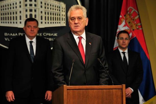 Dodik-Nikolić-Vučić: Srbija će pomoći Srpskoj u borbi protiv terorizma
