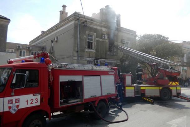 Požar u Osnovnom sudu u Trebinju: Uništeni sudski predmeti
