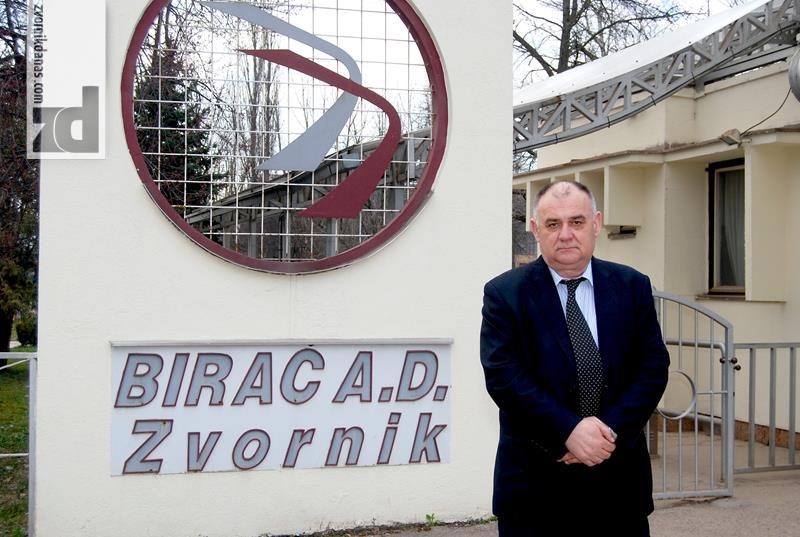 """Photo of Lazo Đurđević, stečajni upravnik FG """"Birač"""": Zaštititi interese povjerilaca, obezbijediti rad fabrike"""