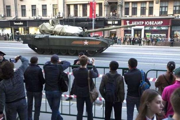 Moskva pokazala najnovije oružje