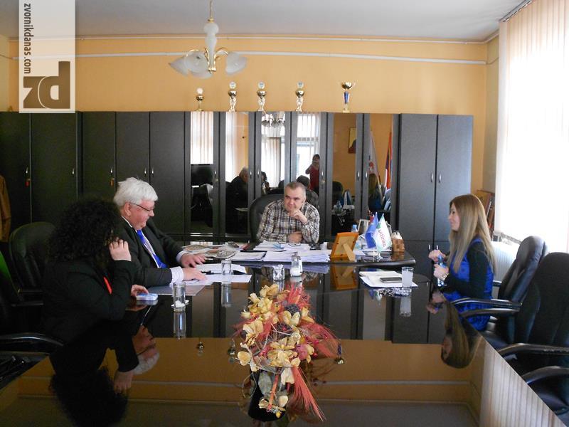 """Photo of Načelnik Stevanović i Brian Šierce o projektu """"Konsultacije za energetsku efikasnost u BiH"""""""