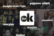 Poznate i predgrupe OK Festa
