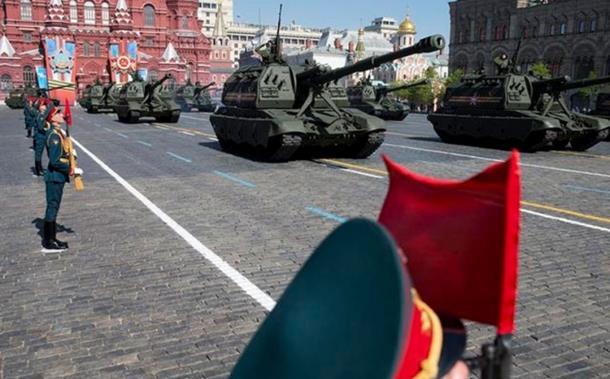 Photo of Srpska vojska na Crvenom trgu?