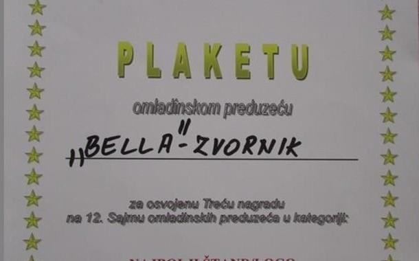 Treće mjesto na Sajmu preduzetništva u Sarajevu