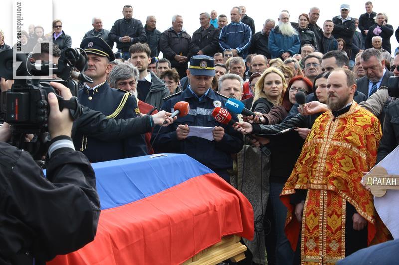 Vasilić: Đurić je dao najvrijednije - život
