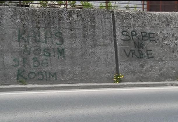 Photo of Sarajevo: Poruke mržnje ispisane juče, još nisu uklonjene