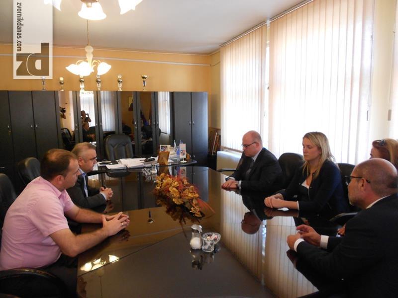 Photo of Šef Misije OEBS-a u BiH razgovarao sa načelnikom Stevanovićem