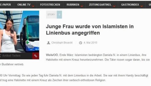 "Photo of Islamisti napali Srpkinju u Austriji: ""Skidaj taj krst s vrata"""