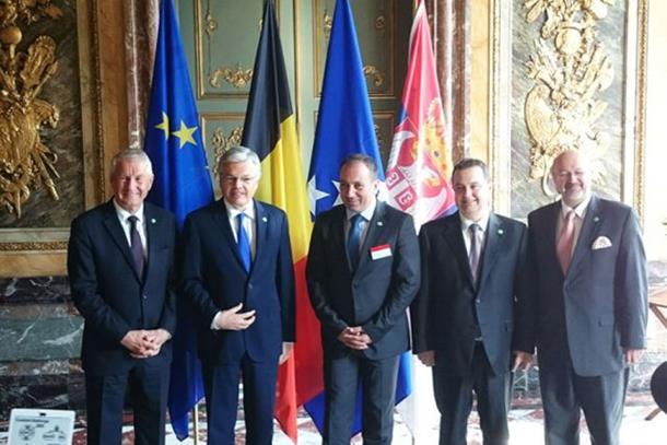 Crnadak na sastanku petorke u Briselu
